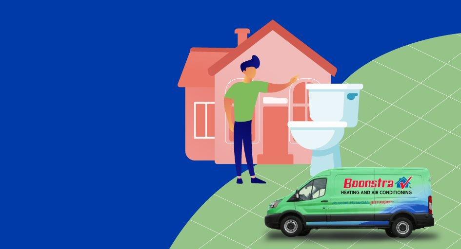 Toilet Repair Illustration