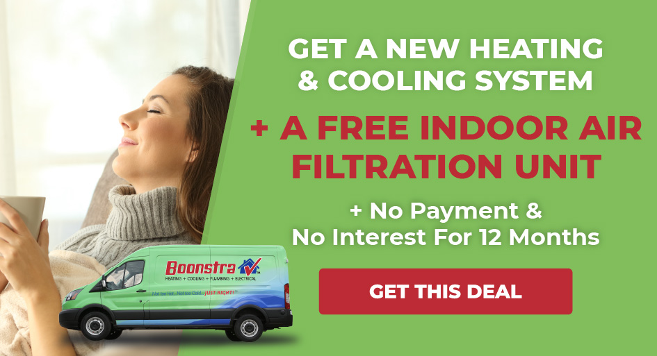 New Heating and Cooling System Plus Free Filtration Unit No Payments No Interest For 12 Months
