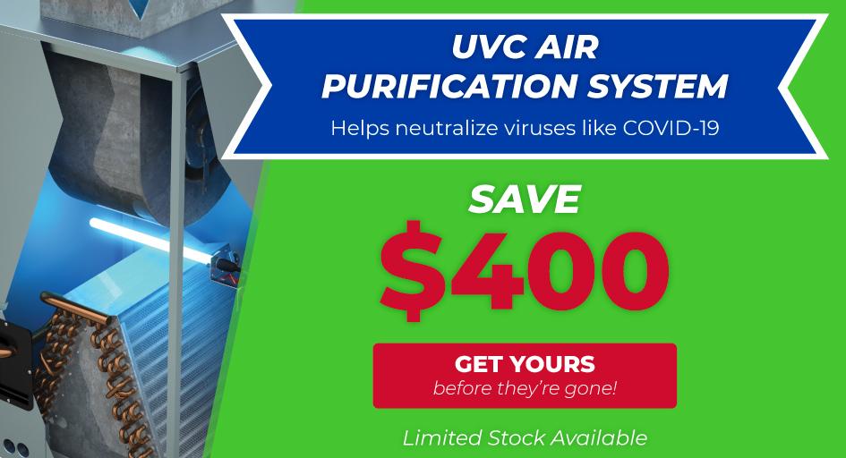 Save $400 on UV Light Air Purifier
