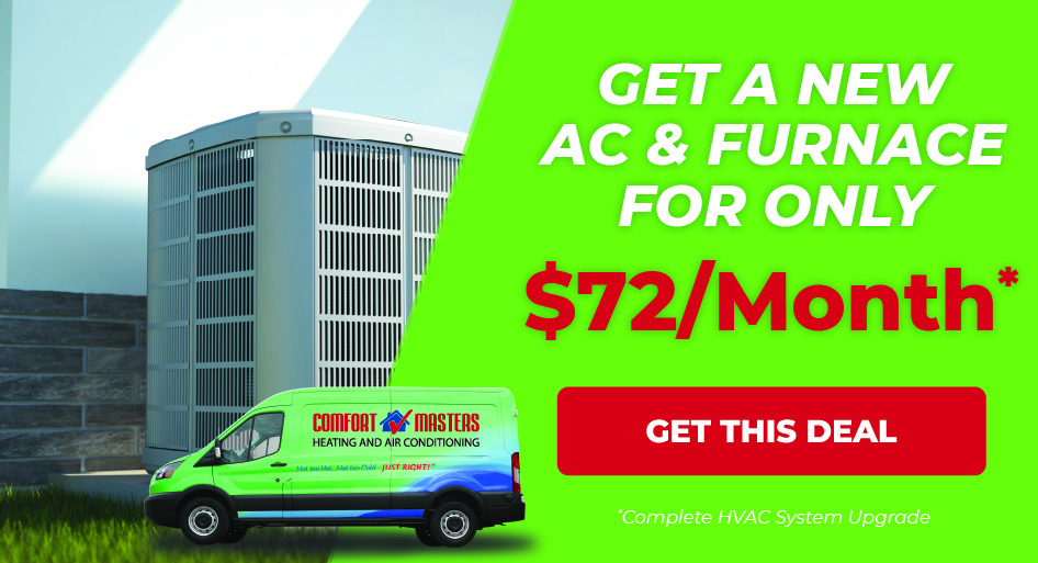 Get AC and Furnace for $72/Month