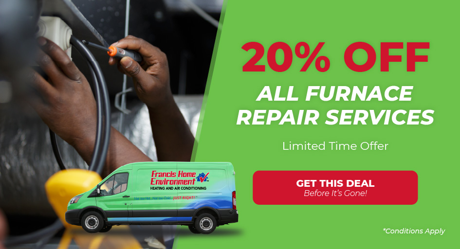 Save 20% on Furnace Repair