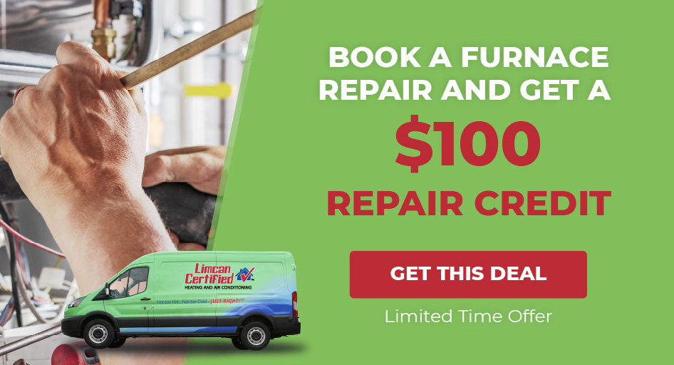 $100 Furnace Repair Credit