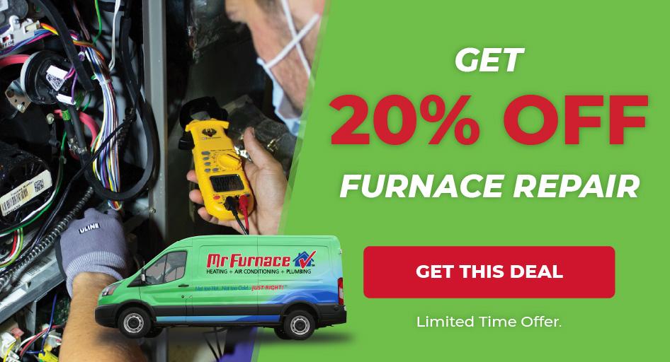 20% Off Furnace Repair
