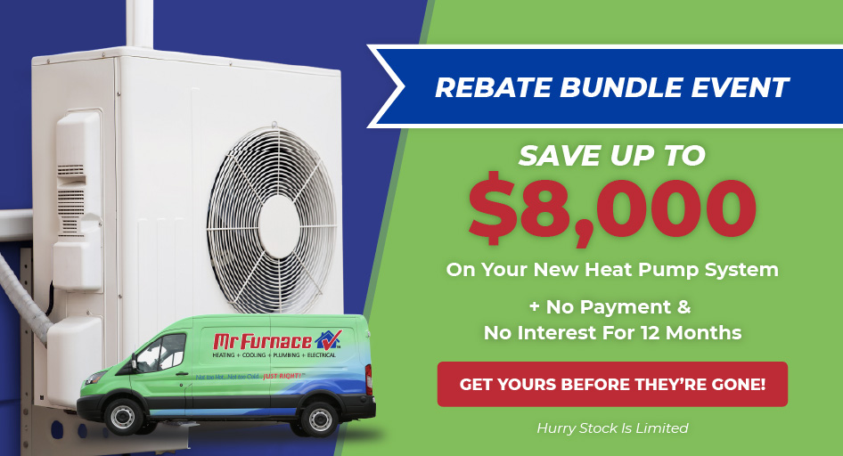 Get up to $8,000 in rebates on a heat pump