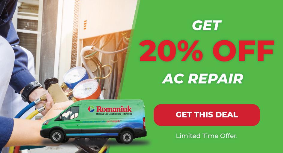 20% off AC repair in Edmonton & Area