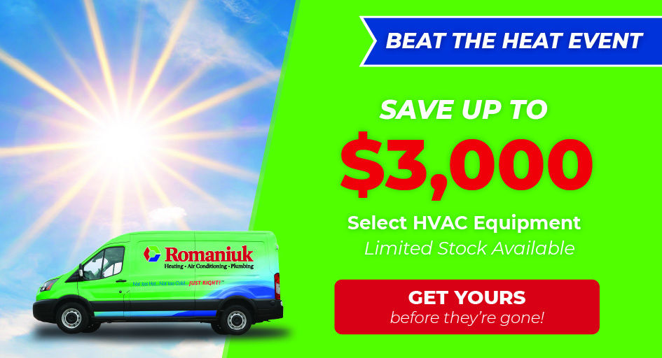 Save up to $3,000 on new HVAC equipment in Edmonton & Area